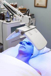 Blue Light LED Facial